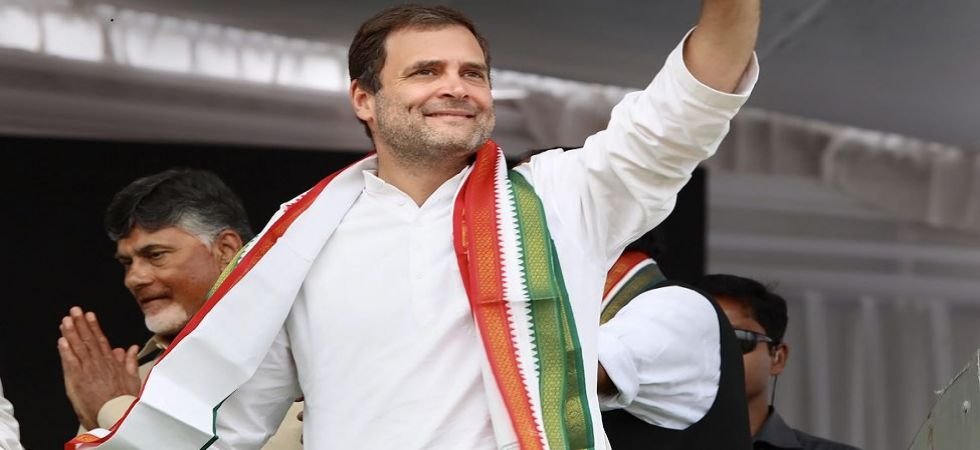 Congress chief Rahul Gandhi takes a dig at BJP over 'EVM tampering' (Photo Source: PTI)