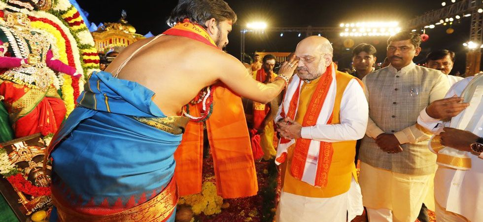 BJP decided to put on hold Amit Shah's proposed rally and the Rath Yatra, saying it will wait for the final order from the HC (Photo: File)