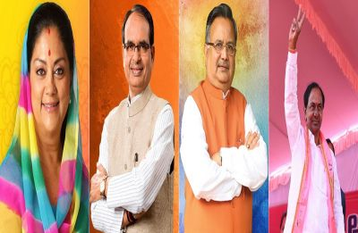 Poll of exit polls: Congress ahead in Rajasthan, Chhattisgarh, close contest in MP