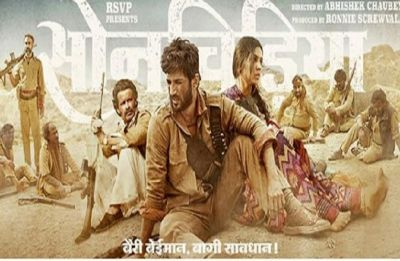 Son Chiriya first poster: Sushant Singh Rajput and Bhumi Pednekar in 'rustic and rooted' avatar