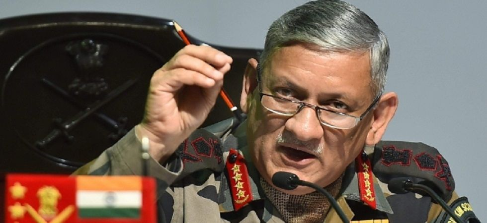 Army Chief General Bipin Rawat. (PTI file)