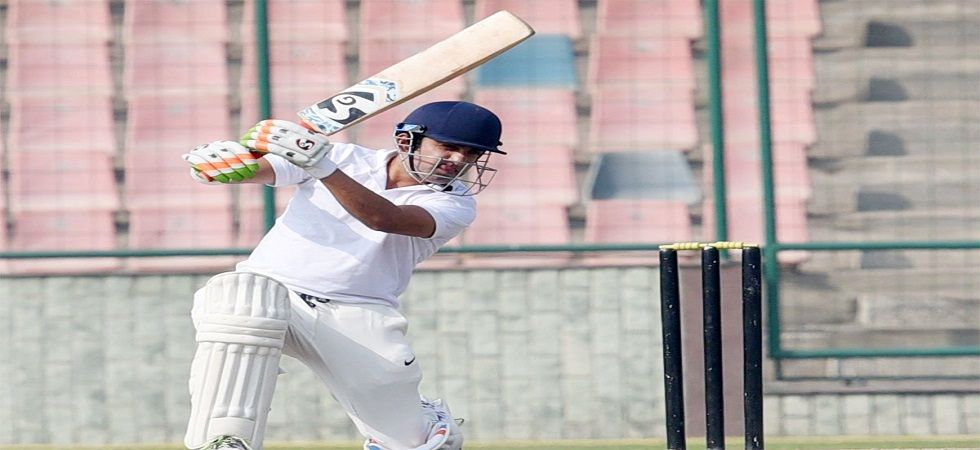 Gautam Gambhir blasted a century in his final farewell game as Delhi reached a position of strength against Andhra. (Image cricket: Twitter)