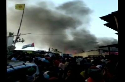 Fire at slum in Mumbai's Malad region, four fire tenders rushed to spot: Reports