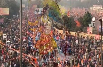 At massive Delhi rally, VHP demands bill on Ram Temple in winter session of Parliament