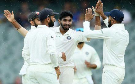India Vs Australia 1st Test Highlights Virat Kohli S Side