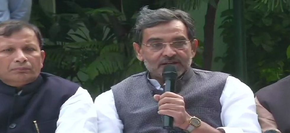 RLSP chief Upendra Kushwaha's quitting the alliance will change the political equation of Bihar. (File photo)