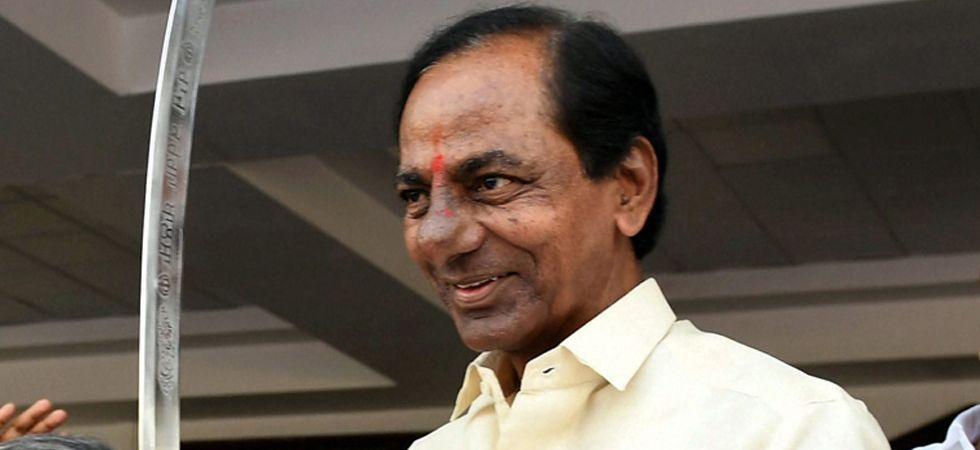 TRS has a clear majority after taking a lead in 90 seats, according to the official Election Commission of India trends