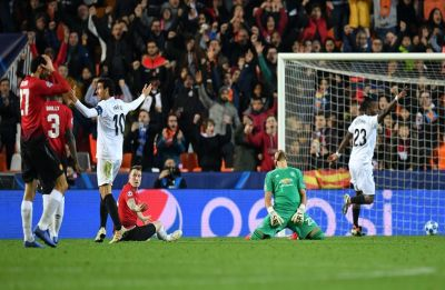 UEFA Champions League: Manchester United lose to Valencia, miss chance to win group