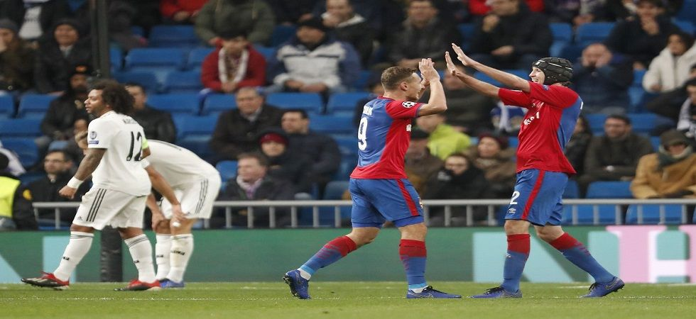 CSKA Moscow were eliminated from the UEFA Champions League but still finished in last place as they lost in the head-to-head tiebreaker. (Image result: Twitter)