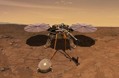 NASA's InSight spacecraft sends home first selfie from the Red Planet