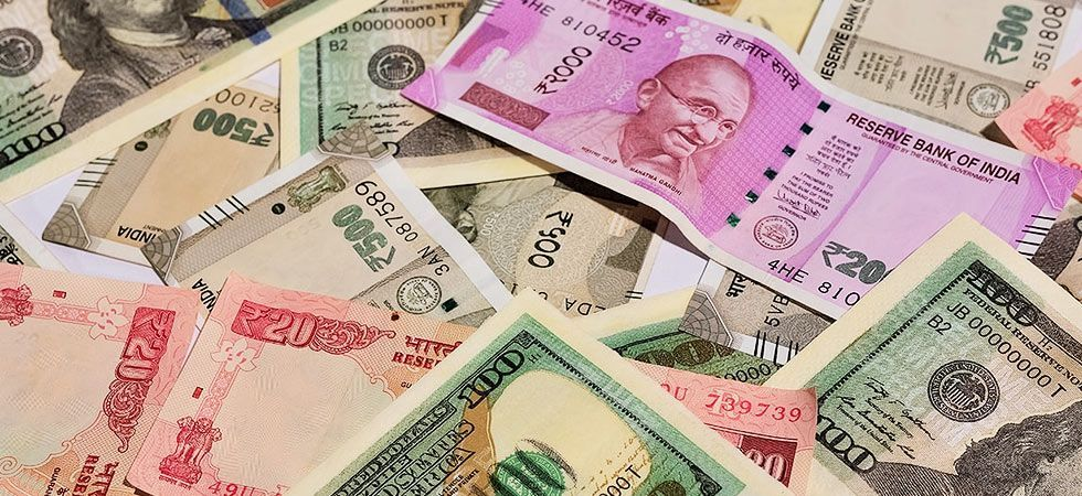 At the Interbank Foreign Exchange, the rupee opened on a weak note at 71.80 against the US dollar