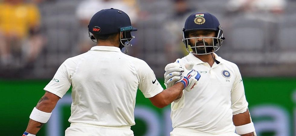 Virat Kohli and Ajinkya Rahane fifties have put India in a strong position against Australia in the Perth Test. (Image credit: Virender Sehwag Twitter)