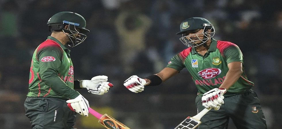 Soumya Sarkar and Tamim Iqbal blasted fifties as Bangladesh secured a brilliant eight-wicket win in Sylhet. (Image credit: ICC Twitter)