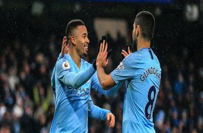 Manchester City surge to top of Premier League with 3-1 win over Everton, Liverpool fall to second
