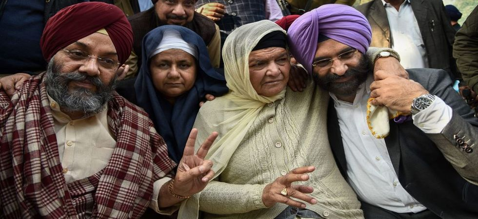Family members of 1984 anti-Sikh riots victims (Photo Source: PTI)