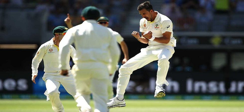 Australia struck at regular intervals as they required five wickets to win the Perth Test while India needed 175 runs. (Image credit: ICC Twitter)