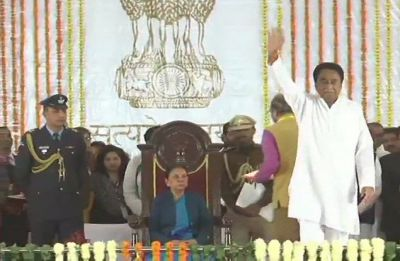 Kamal Nath takes oath as 18th chief minister of Madhya Pradesh