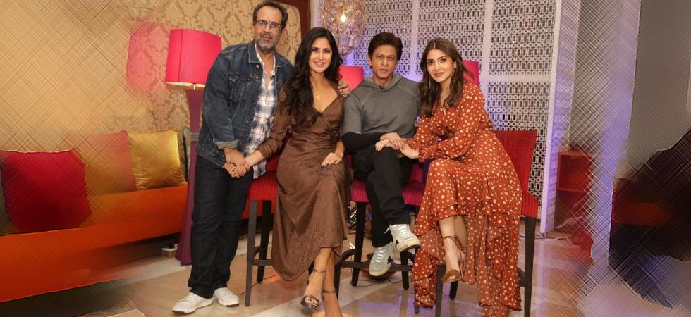 Shah Rukh Khan, Katrina Kaif, Anushka Sharma paint the town red ahead of Zero release