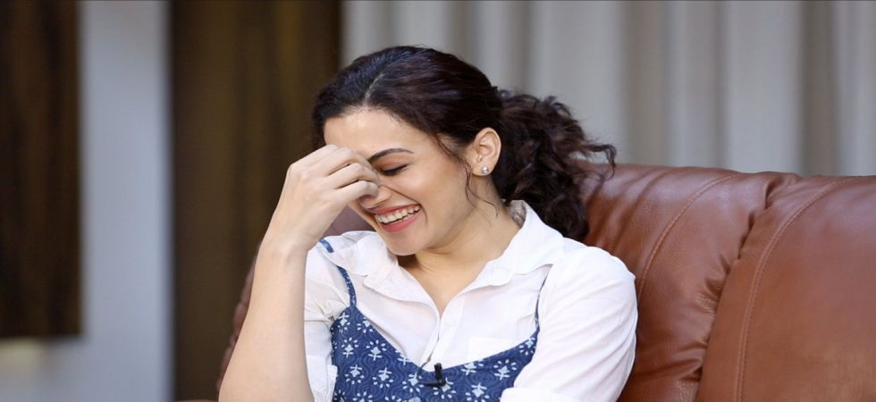 Taapsee Pannu's fitting reply causes a surge in Google's search trend for the word 'cerebrum' (Twitter photo)
