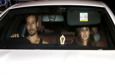 Disha Patani goes on a dinner date with Tiger Shroff and sister, Krishna Shroff