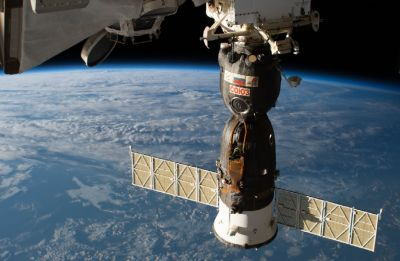 International Space Station crew set for overnight parachute-and-rocket-assisted landing in Kazakhstan