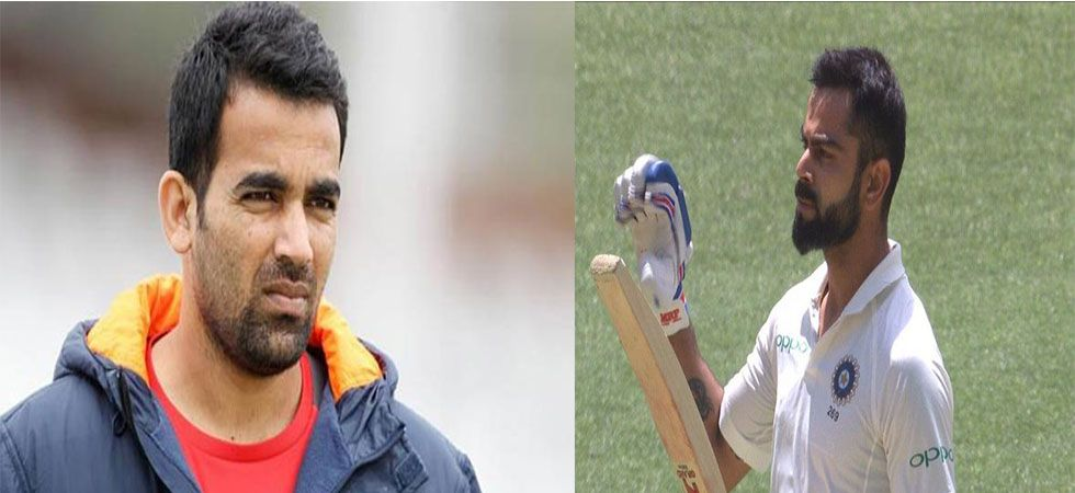 Kohli doesn't need to tone down his aggression, says Zaheer Khan (Twitter)