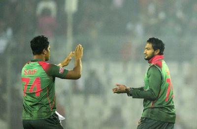 Shakib Al Hasan enters elite list after five-wicket haul in second Twenty20 against West Indies