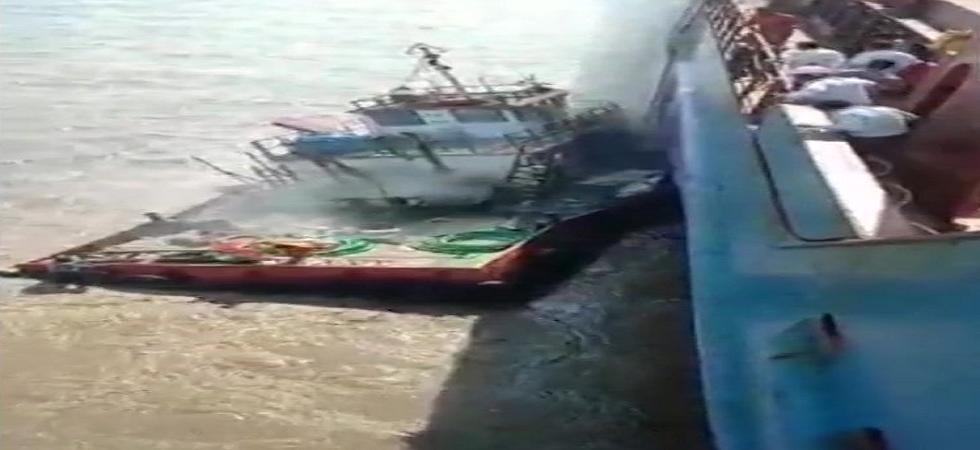 Gujarat: Four people missing after explosion onboard boat at Piram Bet island in Bhavnagar district