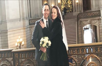 All I Want For Christmas actress Thora Birch ties the knot