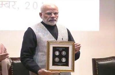 PM Modi launches commemorative Rs 100 coin with Atal Bihari Vajpayee's impression