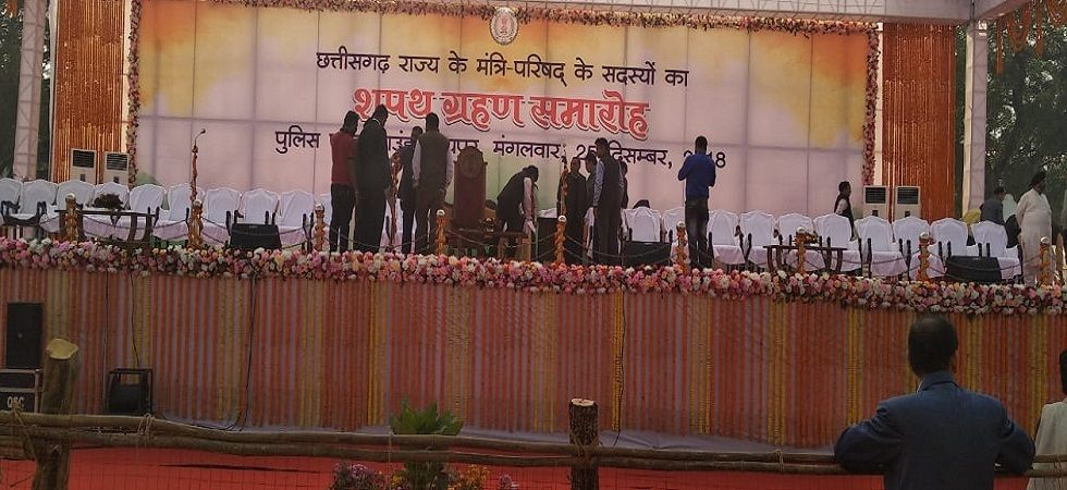 At least 9 newly elected MLAs are expected to take oath as Cabinet ministers at 11 am. ()