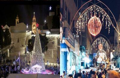 Xmas 2018: Millions flock to Bethlehem for largest celebration in years