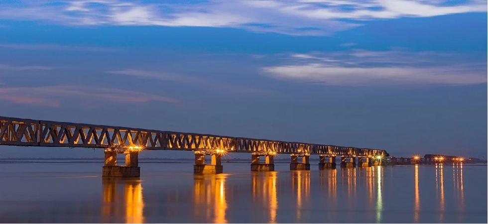 Bogibeel Bridge (Photo Source: @PIB_India)