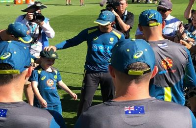 Seven-year-old kid made honorary co-captain for Australia in Boxing Day Test against India