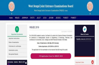WBJEE 2019 online application begins at wbjeeb.nic.in, here are the steps