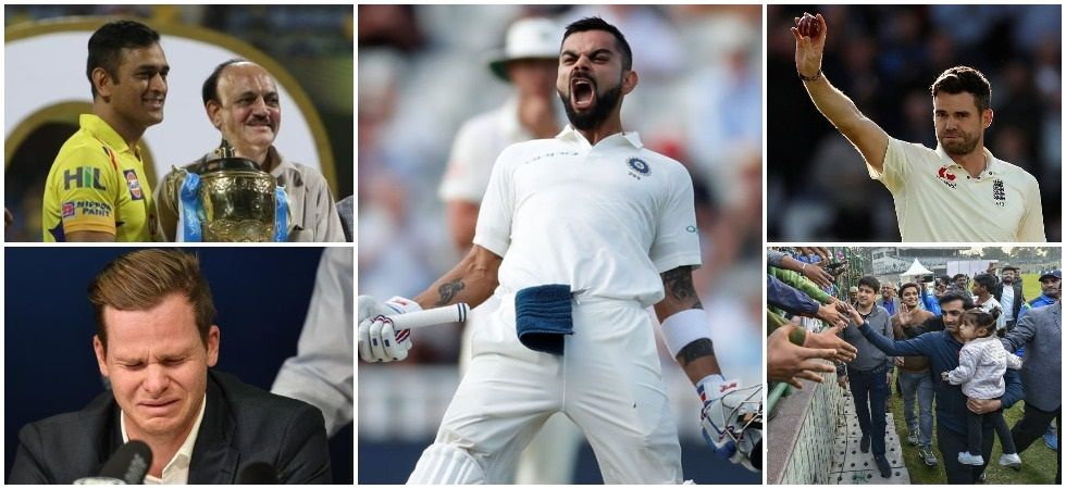 Virat Kohli's brilliance and MS Dhoni's grand return to IPL along with the Sandpaper controversy were the list of major events in cricket in 2018. (Image credit: Newsnation)
