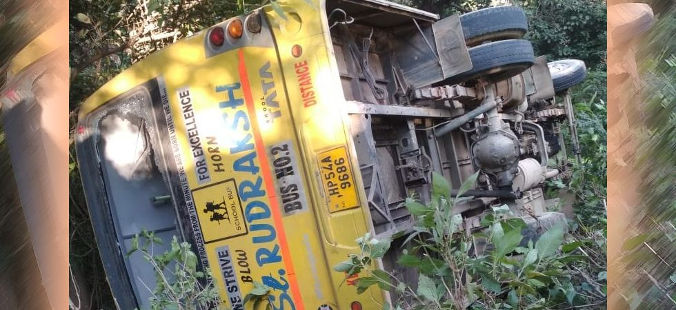 The students were injured in a school bus accident near Lunj at Kangra. (File photo)