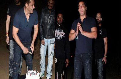 Happy Birthday Salman Khan: Bhaijaan is all smiles as he cuts birthday cake at his Panvel farmhouse