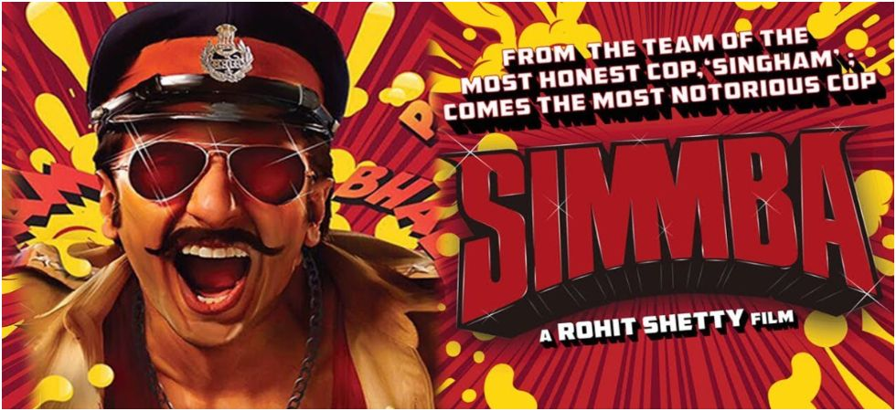 Ranveer Singh and Sara Ali Khan's Simmba finally released at the box-office today./ Image: Twitter