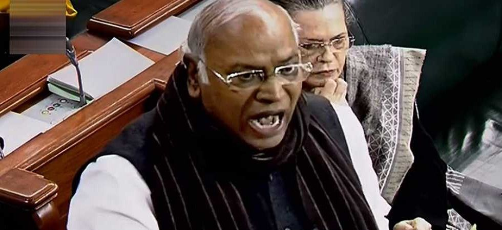 Congress Leader in Lok Sabha Mallikarjun Kharge. (PTI/File)