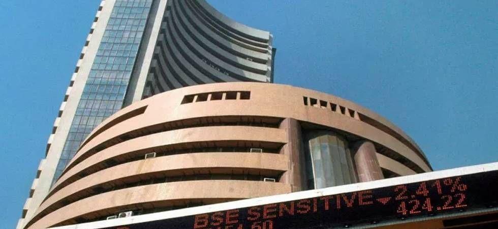 Sensex soars 186 points (file photo)