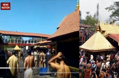 News Nation Exclusive: Priests sprinkle holy water, carry out 'purification' inside Sabarimala temple, watch video