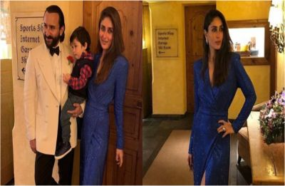Kareena Kapoor Khan and Saif Ali Khan welcome 2019 in style with son Taimur, see PICS