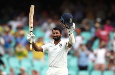 Cheteshwar Pujara continues golden Test series with third hundred in Sydney Test