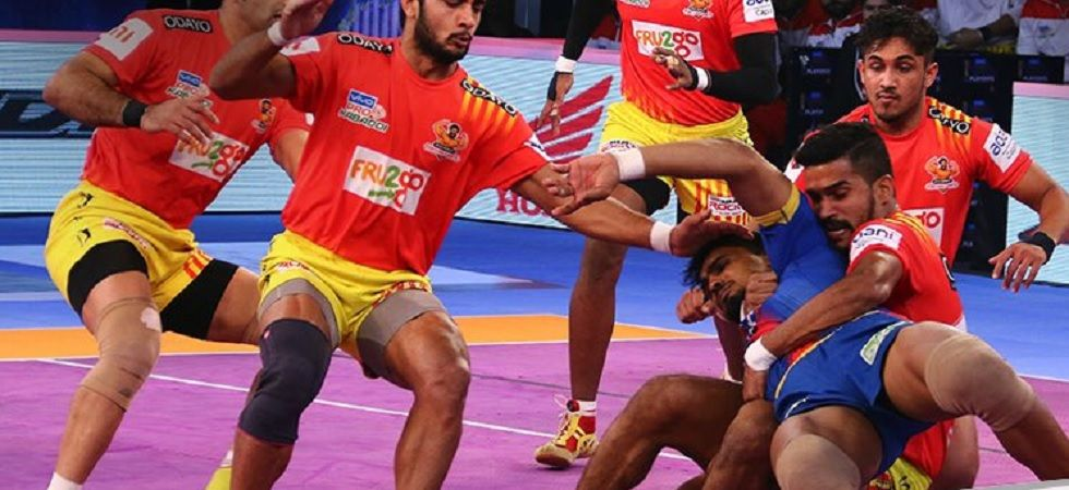 Gujarat Fortunegiants beat UP Yoddha by 38-31 (Twitter)