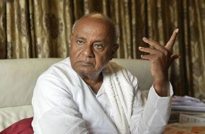 HD Deve Gowda asks Congress to treat regional parties well to forge alliance before 2019 elections