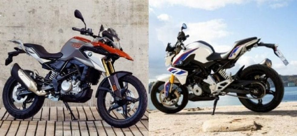 BMW G 310 R and G 310 GS.