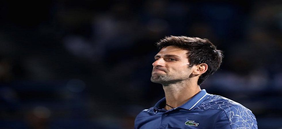 Novak Djokovic suffered a loss for the second time against Roberto Bautista Agut in a semi-final of a major ATP event. (Image credit: Twitter)