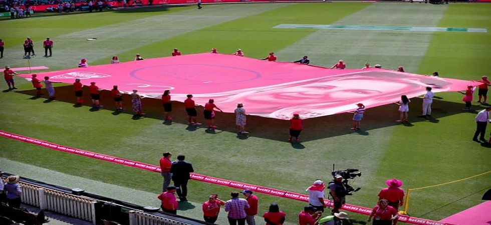 The Sydney Test has been named the Pink Test for the last 10 years. (Image credit: McGrath foundation Facebook)