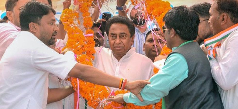 Chief Minister Kamal Nath had signed papers related to farmers' loan waiver hours after taking oath of office (File Photo: PTI)